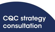 CQC strategy consultation