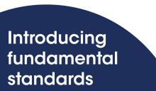 Introducing fundamental standards