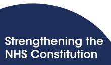 Strengthening the NHS Constitution