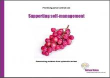 Supporting self-management
