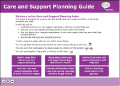 Care and Support Planning Guide